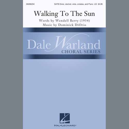 Easily Download Dominick DiOrio Printable PDF piano music notes, guitar tabs for SATB Choir. Transpose or transcribe this score in no time - Learn how to play song progression.
