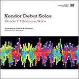 Download Donald M. Sherman 'Kendor Debut Solos - Baritone B.C.' Printable PDF 14-page score for Instructional / arranged Brass Solo SKU: 124994.