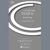 Download or print Doreen Rao Dodi Li Sheet Music Printable PDF 6-page score for Concert / arranged TB Choir SKU: 74181.