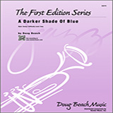 Download Doug Beach 'A Darker Shade Of Blue - 4th Trombone' Printable PDF 2-page score for Jazz / arranged Jazz Ensemble SKU: 371812.