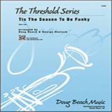 Download or print Doug Beach & George Shutack 'Tis The Season To Be Funky - 1st Eb Alto Saxophone Sheet Music Printable PDF 4-page score for Funk / arranged Jazz Ensemble SKU: 440689.