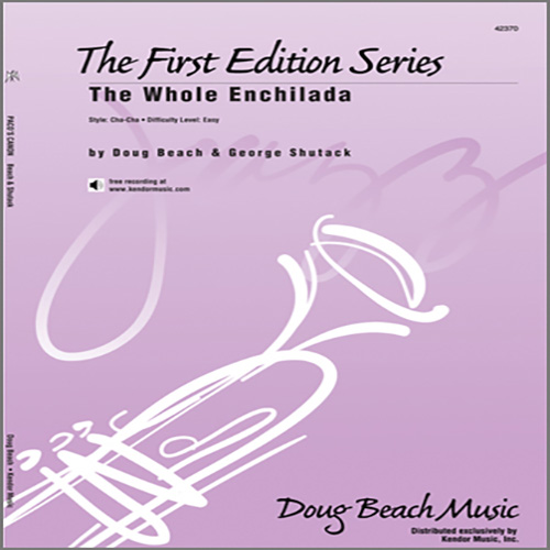 Easily Download Doug Beach & George Shutack Printable PDF piano music notes, guitar tabs for Jazz Ensemble. Transpose or transcribe this score in no time - Learn how to play song progression.