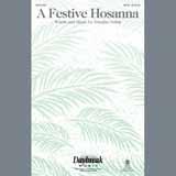 Download or print Douglas Nolan A Festive Hosanna - Handbells Sheet Music Printable PDF 4-page score for Sacred / arranged Choir Instrumental Pak SKU: 343911.