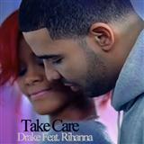 Download Drake 'Take Care (feat. Rihanna)' Printable PDF 3-page score for R & B / arranged Beginner Piano SKU: 118079.