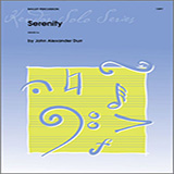 Download or print Durr Serenity Sheet Music Printable PDF 3-page score for Concert / arranged Percussion Solo SKU: 125020.
