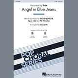 Download Ed Lojeski 'Angel in Blue Jeans - Synthesizer' Printable PDF 3-page score for Pop / arranged Choir Instrumental Pak SKU: 338258.