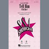 Download Ed Lojeski 'Tell Him (Tell Her) - Bb Trumpet 1' Printable PDF 1-page score for Oldies / arranged Choir Instrumental Pak SKU: 339610.