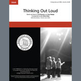 Download Ed Sheeran 'Thinking Out Loud (arr. Kirby Shaw)' Printable PDF 17-page score for Barbershop / arranged SSAA Choir SKU: 407097.