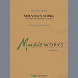 Download Edvard Grieg 'Solveig's Song (from Peer Gynt Suite No. 2) (arr. Johnny Vinson) - Full Score' Printable PDF 11-page score for Contest / arranged Concert Band SKU: 456053.