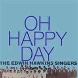 Download or print Edwin R. Hawkins Oh Happy Day Sheet Music Printable PDF 4-page score for Gospel / arranged Piano, Vocal & Guitar (Right-Hand Melody) SKU: 94453.
