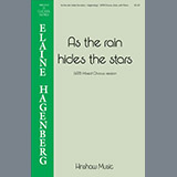 Download or print Elaine Hagenberg As the Rain Hides the Stars Sheet Music Printable PDF 11-page score for Traditional / arranged SATB Choir SKU: 199522.