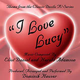 Download or print Eliot Daniel I Love Lucy Sheet Music Printable PDF 2-page score for Film/TV / arranged Big Note Piano SKU: 423560.