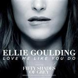 Download Ellie Goulding 'Love Me Like You Do' Printable PDF 7-page score for Film/TV / arranged Piano, Vocal & Guitar (Right-Hand Melody) SKU: 158399.