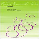 Download Elliot A. Del Borgo 'Hopak - Full Score' Printable PDF 5-page score for Classical / arranged Woodwind Ensemble SKU: 339379.