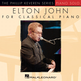 Download Elton John 'Bennie And The Jets [Classical version] (arr. Phillip Keveren)' Printable PDF 5-page score for Pop / arranged Piano Solo SKU: 154336.