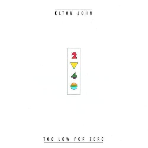 Elton John, I'm Still Standing, Piano, Vocal & Guitar (Right-Hand Melody)