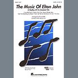 Download Elton John 'The Music of Elton John (A Medley Of His Greatest Hits) (arr. Ed Lojeski)' Printable PDF 31-page score for Pop / arranged 2-Part Choir SKU: 415284.