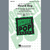 Download or print Elvis Presley Hound Dog (arr. Kirby Shaw) Sheet Music Printable PDF 10-page score for Rock / arranged 2-Part Choir SKU: 476783.