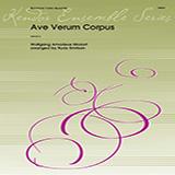Download or print Emilson Ave Verum Corpus (K618) - 2nd Baritone T.C. Sheet Music Printable PDF 1-page score for Classical / arranged Brass Ensemble SKU: 354266.