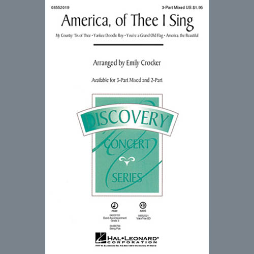 Easily Download Emily Crocker Printable PDF piano music notes, guitar tabs for 3-Part Mixed Choir. Transpose or transcribe this score in no time - Learn how to play song progression.