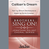 Download Emily Crocker 'Caliban's Dream' Printable PDF 9-page score for Concert / arranged TBB Choir SKU: 441475.