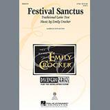 Download or print Emily Crocker Festival Sanctus Sheet Music Printable PDF 9-page score for Concert / arranged 2-Part Choir SKU: 88458.