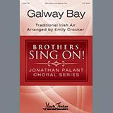 Download Emily Crocker 'Galway Bay' Printable PDF 10-page score for Folk / arranged TBB Choir SKU: 410455.