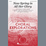 Download or print Emily Crocker Now Spring In All Her Glory Sheet Music Printable PDF 15-page score for Concert / arranged 3-Part Treble Choir SKU: 410607.