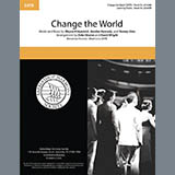 Download Eric Clapton 'Change The World (arr. Deke Sharon and David Wright)' Printable PDF 7-page score for Barbershop / arranged SATB Choir SKU: 432684.