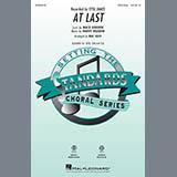 Download Etta James 'At Last (arr. Mac Huff)' Printable PDF 9-page score for Standards / arranged SAB Choir SKU: 425232.