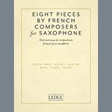 Download Eugene Bozza 'Aria' Printable PDF 4-page score for Classical / arranged Alto Sax and Piano SKU: 442662.