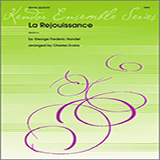 Download or print Evans La Rejouissance (from Music For The Royal Fireworks) - Horn Sheet Music Printable PDF 1-page score for Classical / arranged Brass Ensemble SKU: 313854.