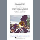 Download Fall Out Boy 'Immortals (from Big Hero 6) (arr. Tom Wallace) - Clarinet 2' Printable PDF 1-page score for Disney / arranged Marching Band SKU: 414868.
