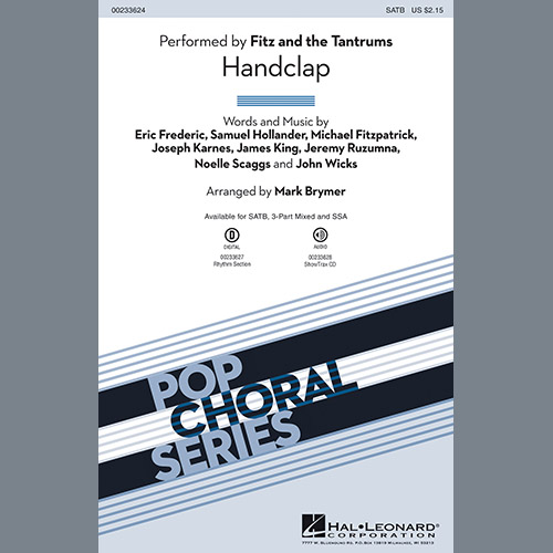 Easily Download Mark Brymer Printable PDF piano music notes, guitar tabs for SSA Choir. Transpose or transcribe this score in no time - Learn how to play song progression.