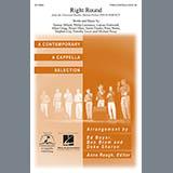 Download or print Flo Rida Right Round (arr. Deke Sharon) Sheet Music Printable PDF 14-page score for A Cappella / arranged TTBB Choir SKU: 96839.