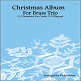 Download or print Fote Christmas Album For Brass Trio - Part 1 Sheet Music Printable PDF 10-page score for Classical / arranged Brass Ensemble SKU: 337246.