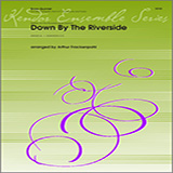 Download or print Frackenpohl Down by the Riverside - Trumpet 1 Sheet Music Printable PDF 2-page score for Classical / arranged Brass Ensemble SKU: 313957.