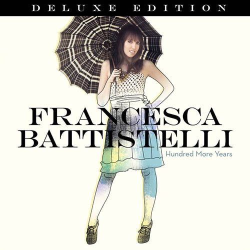 Easily Download Francesca Battistelli Printable PDF piano music notes, guitar tabs for Piano, Vocal & Guitar (Right-Hand Melody). Transpose or transcribe this score in no time - Learn how to play song progression.