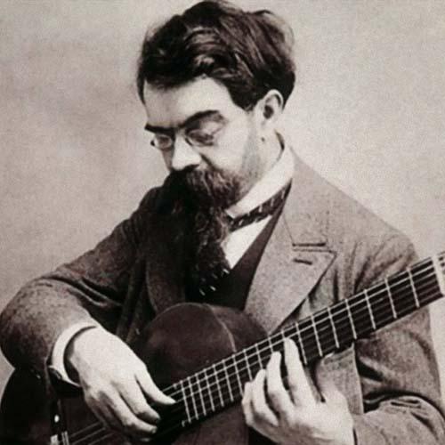 Francisco Tarrega, Recuerdos De La Alhambra, Solo Guitar