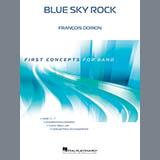 Download Francois Dorion 'Blue Sky Rock - Eb Alto Saxophone' Printable PDF 1-page score for Rock / arranged Concert Band SKU: 378386.