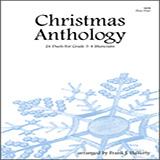 Download Frank J. Halferty 'Christmas Anthology (24 Duets For Grade 3-4 Musicians)' Printable PDF 30-page score for Christmas / arranged Brass Ensemble SKU: 124944.
