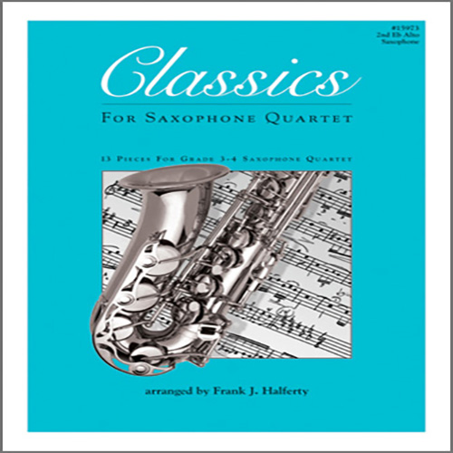 Easily Download Frank J. Halferty Printable PDF piano music notes, guitar tabs for Woodwind Ensemble. Transpose or transcribe this score in no time - Learn how to play song progression.