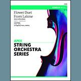 Download Frank J. Halferty 'Flower Duet From Lakme (Sous Le Dome Epais) - Violin 3 (Viola T.C.)' Printable PDF 2-page score for Concert / arranged Orchestra SKU: 354117.