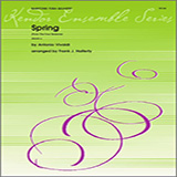 Download or print Frank J. Halferty Spring (from The Four Seasons) - 1st Baritone B.C. Sheet Music Printable PDF 2-page score for Classical / arranged Brass Ensemble SKU: 336877.