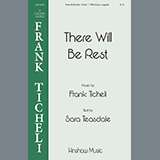 Download or print Frank Ticheli There Will Be Rest Sheet Music Printable PDF 14-page score for A Cappella / arranged TTBB Choir SKU: 460040.