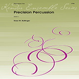 Download or print Gary M. Bolinger Precision Percussion - Percussion 2 Sheet Music Printable PDF 1-page score for Concert / arranged Percussion Ensemble SKU: 376341.