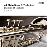 Download or print Gary Ziek 44 Melodious & Technical Etudes For Trumpet Sheet Music Printable PDF 47-page score for Concert / arranged Brass Solo SKU: 486066.