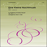 Download or print Gary Ziek Eine Kleine Nachtmusik (Mvt. 1) - 3rd Bb Trumpet Sheet Music Printable PDF 2-page score for Classical / arranged Brass Ensemble SKU: 351435.