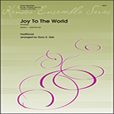Download Gary Ziek 'Joy To The World (fantasia) - Horn in F' Printable PDF 2-page score for Christmas / arranged Brass Ensemble SKU: 405350.