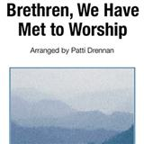 Download or print George Atkins Brethren, We Have Met To Worship Sheet Music Printable PDF 4-page score for Hymn / arranged Piano Solo SKU: 82241.